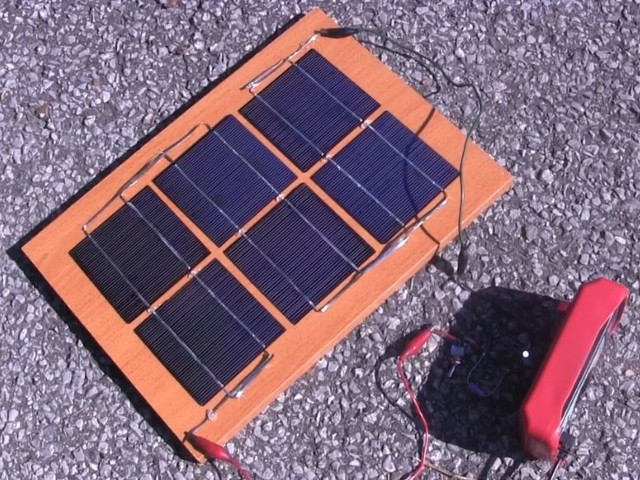 Diy Solar Panel Homemade