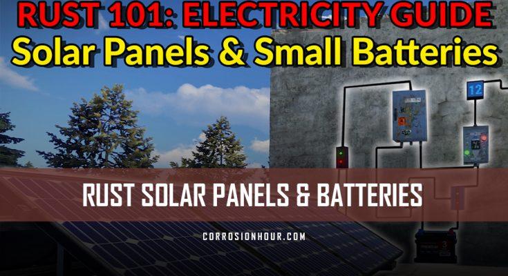 Rust Solar Panel Guide